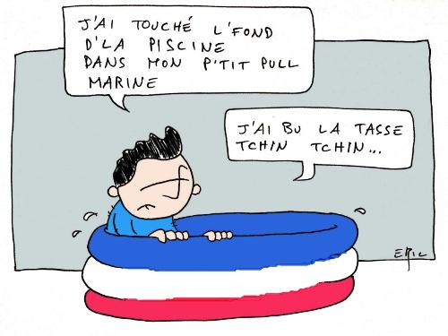 Sarkozy perd face à Marine