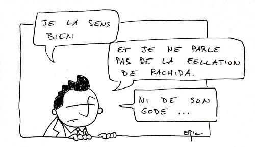 Sarkozy sent bien l'éléction
