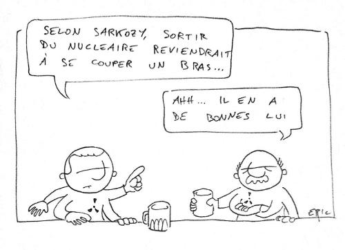 sarkozy pour le nucléaire français