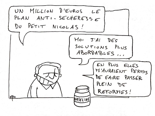 DSK Sarkozy plan secheresse