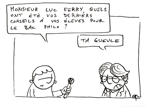 luc ferry bac philo
