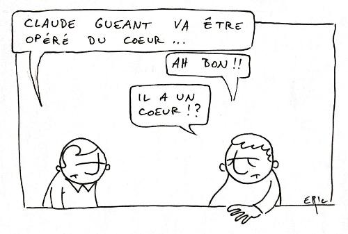 Claude Guéant opéré du coeur