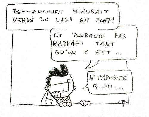 Affaire Bettencourt. Du cash versé à Sarkozy en 2007 : l'Elysée dément