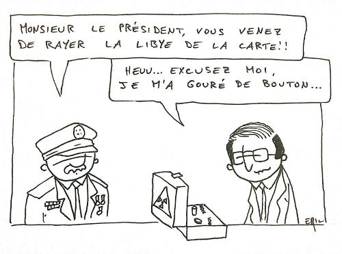 Hollande vote le plan de rigueur par erreur