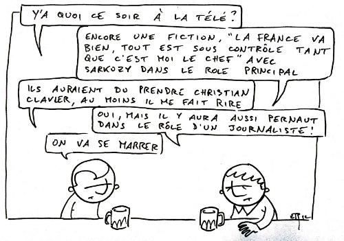 Sarkozy face à la crise